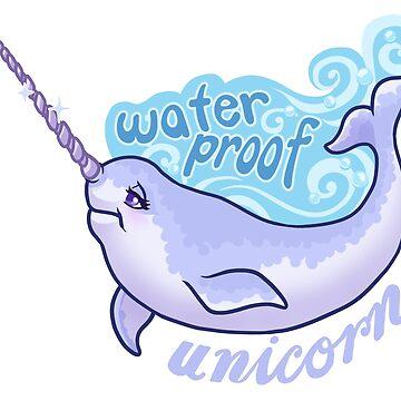Waterproof Unicorn by sephiramy
