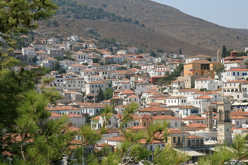 Hydra Cottages by DRWilliams