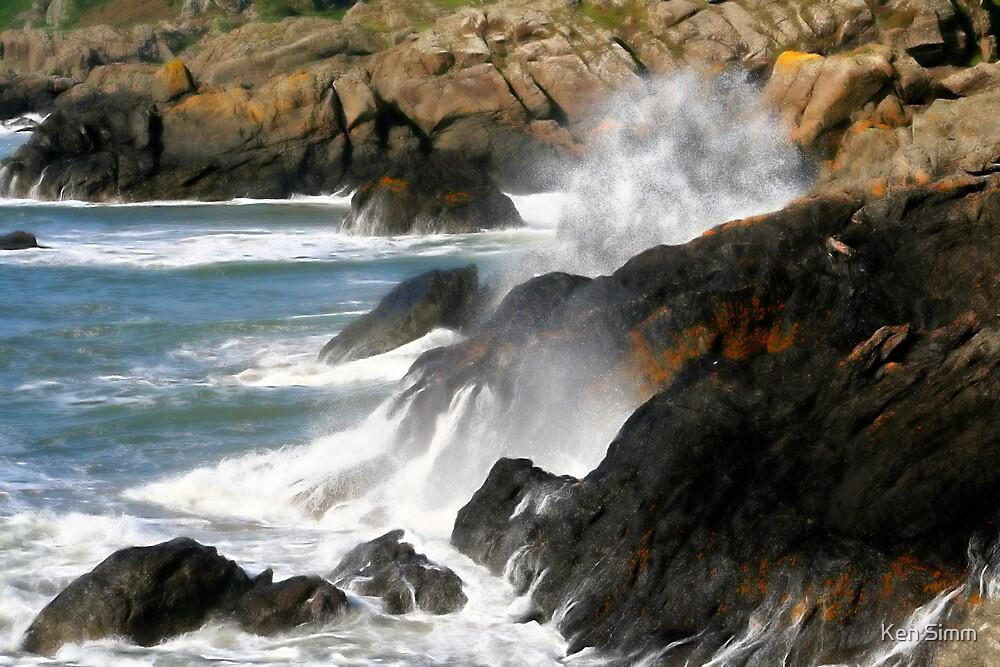 Wave Crash by Kenart