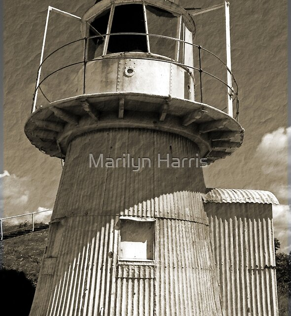 Grassy Hill Lighthouse - Cooktown by Marilyn Harris