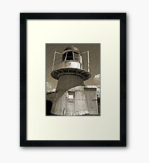 Grassy Hill Lighthouse - Cooktown Framed Print