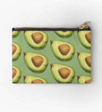 Avocado. color pencil Studio Pouch