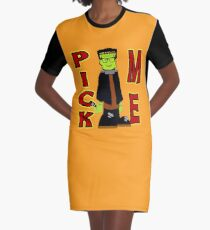 TV Game Show - TPIR (The Price Is...)Pick Me Halloween Graphic T-Shirt Dress