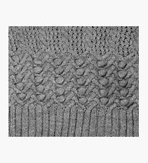 knitted ornament Photographic Print