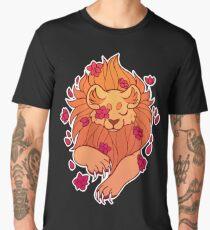 Flowering Lion Men's Premium T-Shirt
