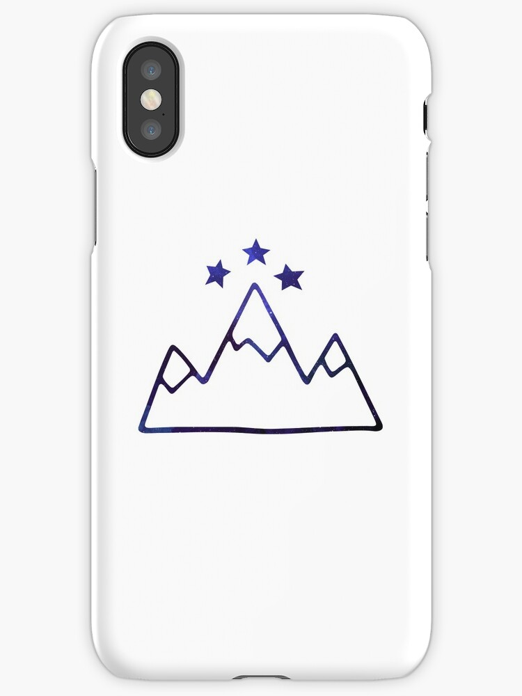 Night Court Symbol Mountains And Stars Iphone Cases Covers By