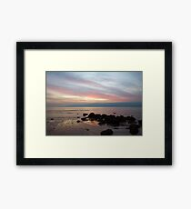 Ebb Glow Framed Print