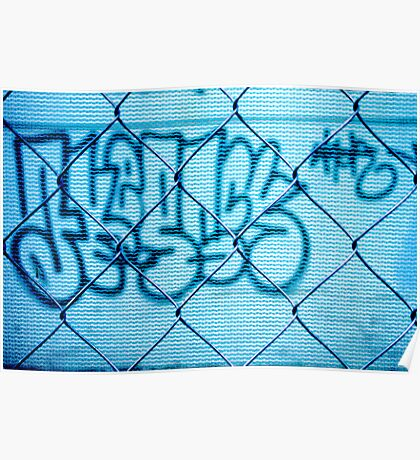 Street tag Poster