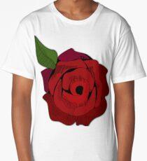Red Rose Long T-Shirt