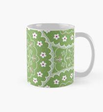 Green Mandala Design Mug