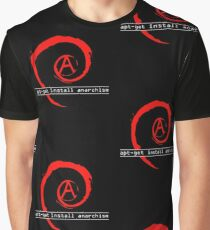 apt-get install anarchism  Graphic T-Shirt