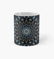 Black & Blue Mandalas Design Mug