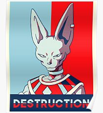 Bills God Of Destruction Poster