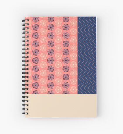 AFE Geometric Abstract Spiral Notebook