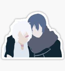 No. 6 Nezumi + Shion Sticker