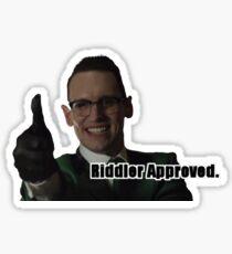 GOTHAM - Riddler Approved Sticker