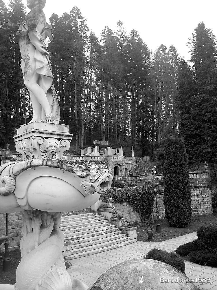 Sighisoara Castle Garden, Romania. by Barcelonesa1982