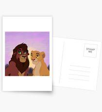 Kovu and Kiara Postcards