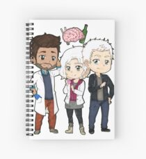 Izombie  Spiral Notebook