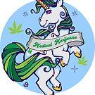 «Unicornio medicinal de marihuana» de kushcoast