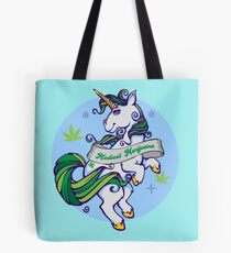 Medical Marijuana Unicorn Tote Bag