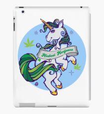Medical Marijuana Unicorn iPad Case/Skin