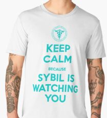 Psycho Pass | Keep Calm, Sybil is watching you Men's Premium T-Shirt