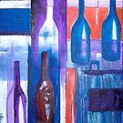 Wine Bottles I by whittyart