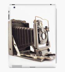 Old portrait photography machine iPad Case/Skin