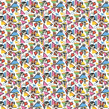 90s pattern cartoon by caitdesign
