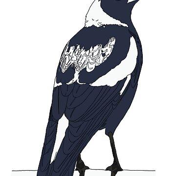 Magpie by jtownsend