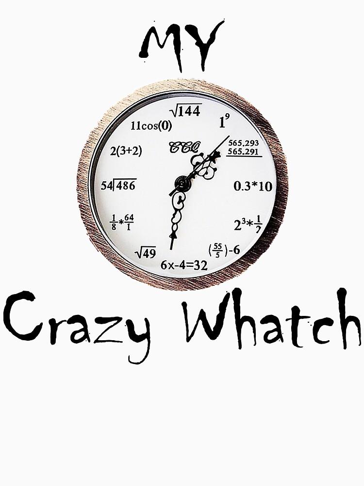 crazy mathematics watches by ramirodiz