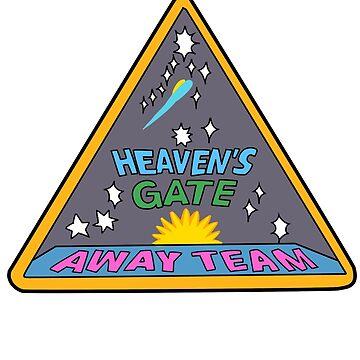 Heaven's Gate (Cartoon Version) by nicolascagedesu