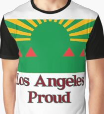 Los Angeles City Flag Graphic T-Shirt