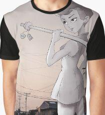 Pickaxe Girl Graphic T-Shirt