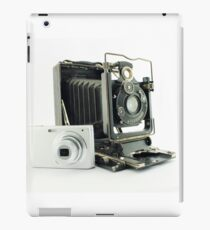 Two generations of photographic machines iPad Case/Skin