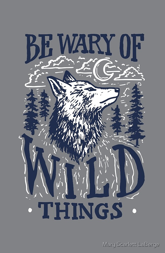 Be Wary of Wild Things by Mary Scarlett LaBerge