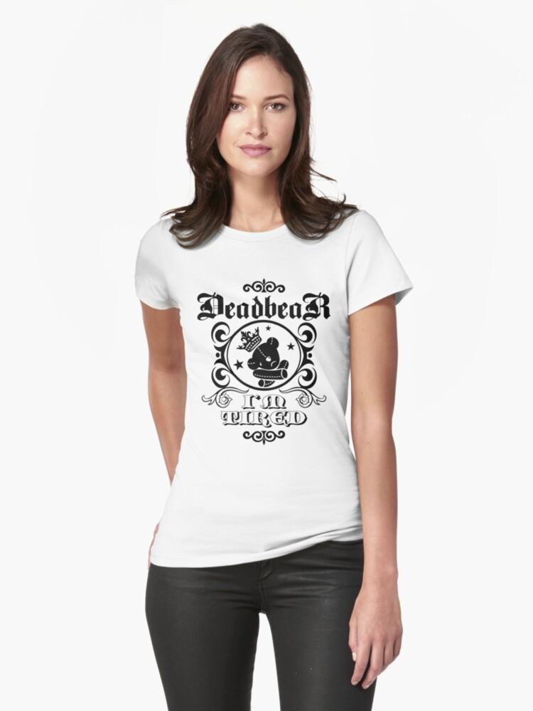 """DeadbeaR """"I'm tired"""" T-Shirt by Vivian Lau"""