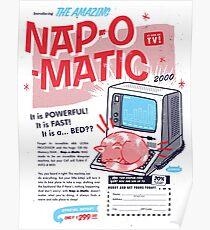 Nap-O-Matic Poster