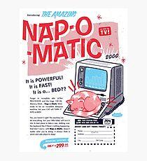 Nap-O-Matic Photographic Print
