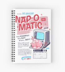 Nap-O-Matic Spiral Notebook
