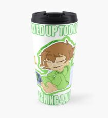 Stayed Up Looking For Aliens Travel Mug