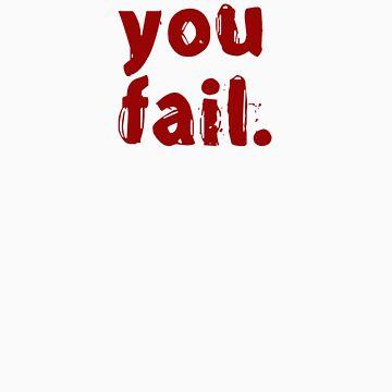 You fail. by drbunsen