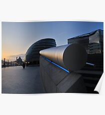 Sunrise at the London assembly Poster