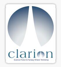 Clarion logo Sticker