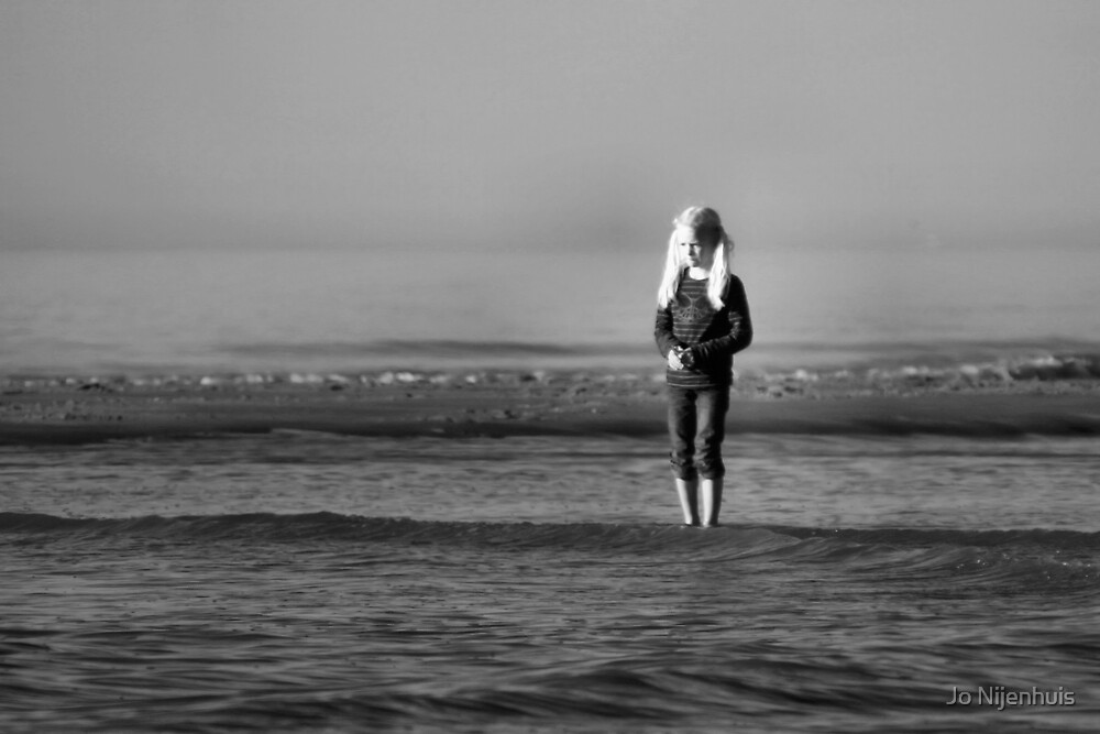 A Child and The Sea by Jo Nijenhuis