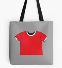 A RED SHIRT t-shirt tee Tote Bag
