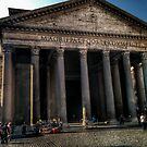 Pantheon, Rome by hans p olsen
