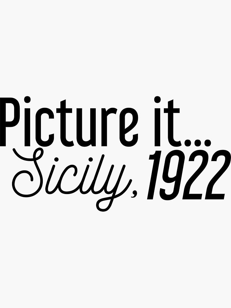 Imagínate ... Sicilia, 1922 de mirmirkane
