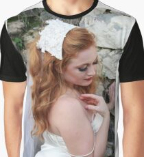 Lady in white Graphic T-Shirt